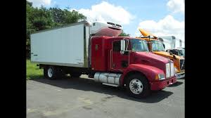 100 Expediter Trucks 2008 Kenworth T300 Reefer Hotshot YouTube