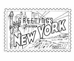 New York City Coloring Pages 79 With Additional For Kids