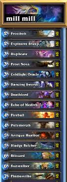hearthstone fatigue mage deck guidescroll