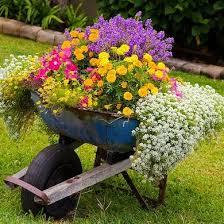 Outdoor Spring Flower Decor Ideas Home Garden Diy