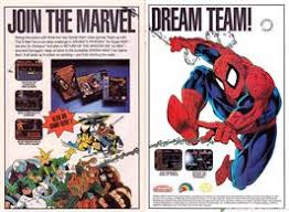 Cartridge Advert For Spider Man Return Of The Sinister Six On Sega Game Gear
