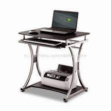 Tempered Glass Computer Desk by Home Office Computer Table Pc Desk Work Station Drawer Monitor For