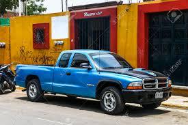 OAXACA, MEXICO - MAY 25, 2017: Pickup Truck Dodge Dakota In The ...