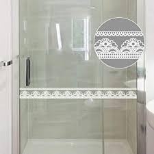 création selbstklebende bordüre weiße transparent blumen tapete bordüren aufkleber entfernbare grenzabziehbild dekoration für schaufenster anzeigen