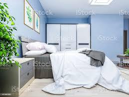 deko schlafzimmer blau caseconrad