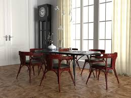wiener wohnzimmer furniture set 3d model