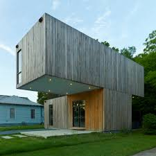 100 Cantilever Home Architecture Students Create Prefab House In Arkansas