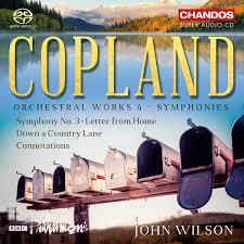 Copland Orchestral Works 4 BBC Philharmonic John Wilson Chandos