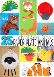 Absolutely Cute Paper Plate Animals
