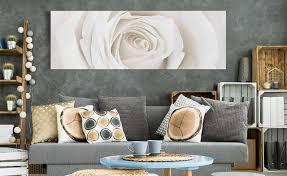 dekoration leinwand bilder kunstdruck blumen schwarz