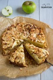 Apple Almond And Polenta Rustic Cake Gluten Free