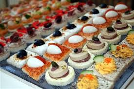 canapes aperitif cocktail