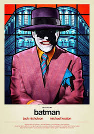 Stained Glass Art Posters For 80s Movies By