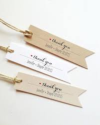 25 Wedding Thank You Tags Gift Bridal Shower