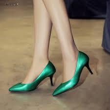 online get cheap green high heels for girls aliexpress com
