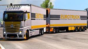 100 What Is A Tandem Truck Devil BDF Pack 131 ETS2 Mods Euro Truck Simulator