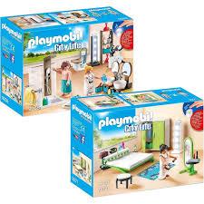 playmobil 9268 9271 city 2er set badezimmer