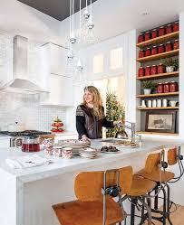 Best Holiday Homes Festive Kitchen Island Ideas