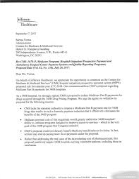 Letter To Center For Medicare Medicaid Services On Changes To 340B
