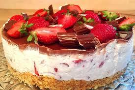 yogurette erdbeer torte einfach nur lecker