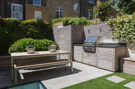 Garden Kitchen Ideas Contemporary Outdoor Kitchen Randle Siddeley