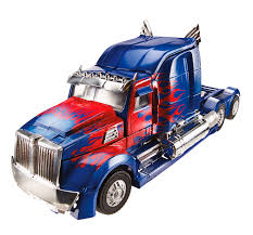 Transformers: The Game Optimus Prime Action & Toy Figures ...