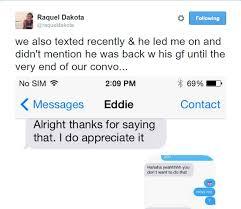 Eddie Lucas Below Deck Facebook by Below Deck U0027 Raquel U0027rocky U0027 Dakota Posts Inappropriate Texts She