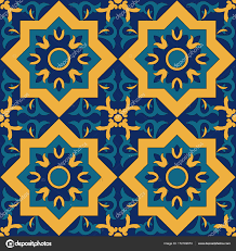 Islamic Design Decoration Arabic Carpet Pattern Stock Vector