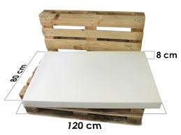 mousse pour coussin canapé pack coussins pour canap palette standard 8 cm divers coussin
