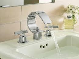 Delta Trinsic Roman Tub Faucet by Bath U0026 Shower Fabulous Bathroom Faucets For Modern Bathroom