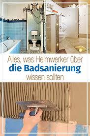 kompletter badausbau selbst de badsanierung badezimmer