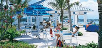 Harborside Grill And Patio by The Point Restaurant Paradise Island Casual Dining Atlantis
