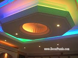 pop false ceiling design catalogue with led lights