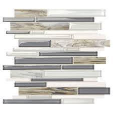 shop american olean stellaris constella glass wall tile common