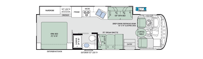 Jayco Class C Motorhome Floor Plans by Thor Class A Motorhomes Rv Models Specifications Photo Gallery