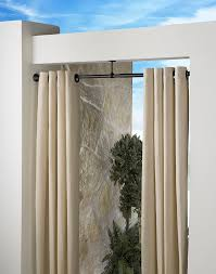 Curtain Rod Extender Bracket by Indoor Outdoor Extension Curtain Rod 1