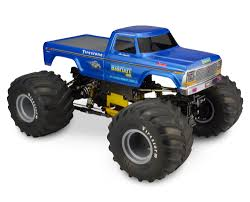 100 Rc Ford Truck JConcepts New Release 1979 F250 Monster Body