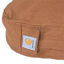 carhartt accessories 100550 211 tan cotton duck padded dog bed