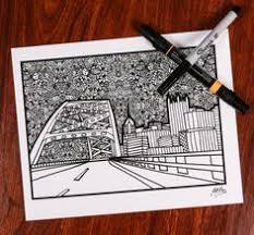 Zentanlge Fort Pit Bridge By ZenspireDesigns On Etsy