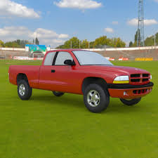 3D Truck 1997 Dodge Dakota Extended Cab Pick-up | CGTrader