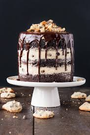 Combine Classic Chocolate Cake With Your Favourite Guilty Pleasure In This Cookie Dough