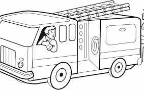 Fire Trucks Coloring Pages Fire Trucks Coloring Pages Valid Fire ...