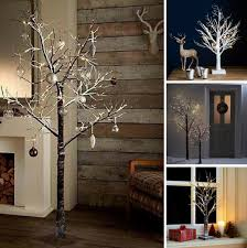 Pre Lit Christmas Twig Tree Led Indoor Outdoor Rustic Xmas Snowy Decoration