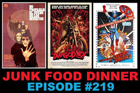Halloween 2 1981 Castellano junk food dinner jfd219 let sleeping corpses lie dear god no