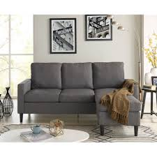 Small Spaces Configurable Sectional Sofa Walmart by Madison Home Usa Reversible Chaise Sectional Walmart Com