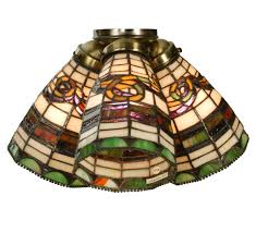 Tiffany Style Lamp Shades by Beautiful Ceiling Fan Light Shades Best Home Decor Inspirations