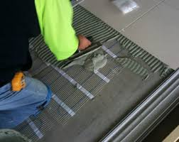 thin cable mat thin electric floor heating tile