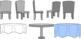 Kitchen Table And Chairs With Cloth