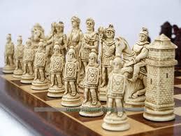 Berkeley Chess Roman Ornamental Set