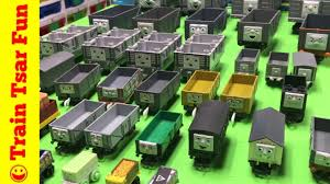100 Trackmaster Troublesome Trucks Collection Thomas Friends Trains Ttfc YouTube